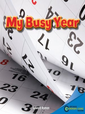 cover image of My Busy Year